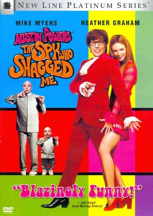 AUSTIN POWERS:SPY WHO SHAGGED ME BY MYERS,MIKE (DVD)